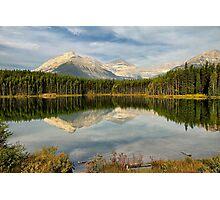 Herbert Lake, Banff NP Photographic Print