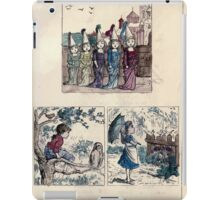 The Little Folks Painting book by George Weatherly and Kate Greenaway 0023 iPad Case/Skin