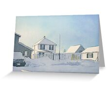 Short Days of Winter Greeting Card