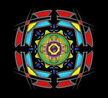 Faith MandalaGram by mandaladon
