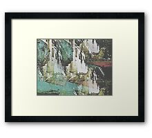 Lions at the Gate  Framed Print