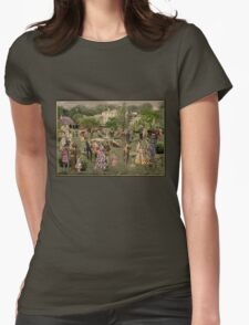 Victorian Park Womens Fitted T-Shirt