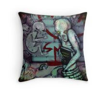 Condemned Throw Pillow