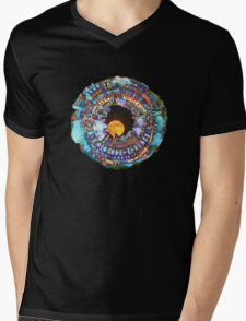 harbour planet Mens V-Neck T-Shirt