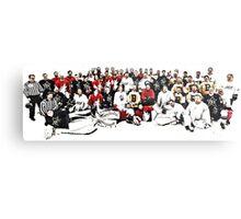 4 Teams One Goal Metal Print