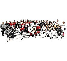 4 Teams One Goal Photographic Print