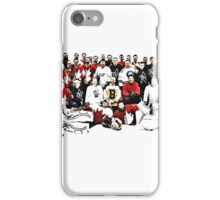 4 Teams One Goal iPhone Case/Skin