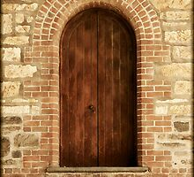 ~ The Old Brewery Door ~ by LeeoPhotography