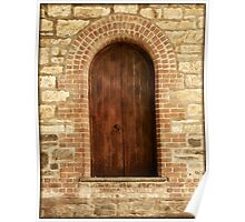 ~ The Old Brewery Door ~ Poster