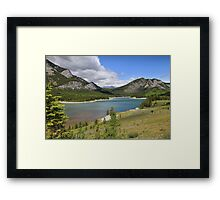 Breathtaking Kananaskis River Framed Print
