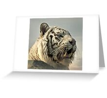 In ancient times cats were worshipped as gods; they have not forgotten this. Greeting Card