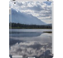 Mount Rundle & Vermillion Lake iPad Case/Skin