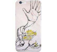 Banana Marketing Hand Head iPhone Case/Skin