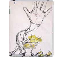 Banana Marketing Hand Head iPad Case/Skin