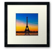 PARIS 24 Framed Print