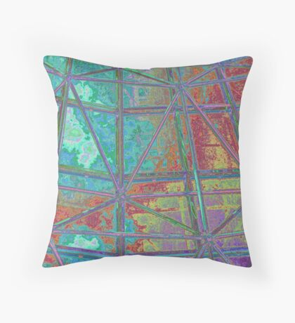 Dreams of Peaceful Shelter Throw Pillow