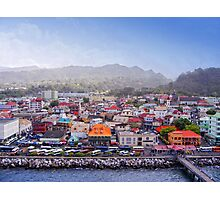 Dominica Seaport Photographic Print
