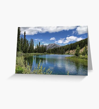 Mount Lorette Ponds 2 Greeting Card