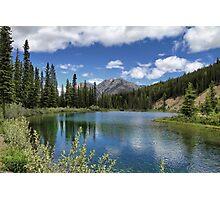 Mount Lorette Ponds 2 Photographic Print