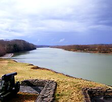 Cumberland River in Tennessee by shimschoot
