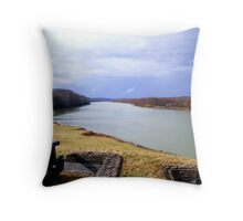Cumberland River in Tennessee Throw Pillow