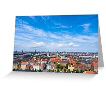 COPENHAGEN 01 Greeting Card