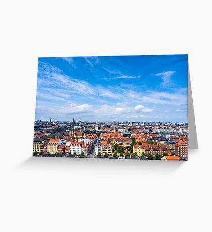 COPENHAGEN 01 Greeting Card