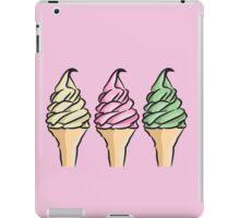 Strawberry, Vanilla, Mint iPad Case/Skin