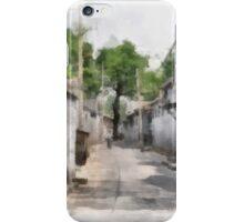 Hutongs, Beijing, China iPhone Case/Skin