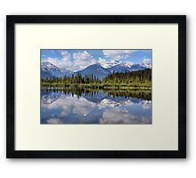 Vermillion Lakes (2) Framed Print