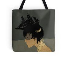 We Belong in the Sea Tote Bag