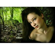 Forest Nymph Photographic Print