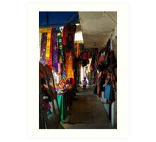Market in Mexico City, DF Art Print