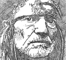 Willie Nelson by BCallahan