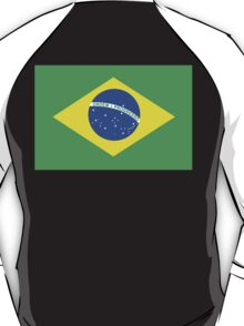 BRAZIL, BRAZILIAN FLAG, FLAG OF BRAZIL, PURE & SIMPLE, Brazil, Football & Olympics T-Shirt