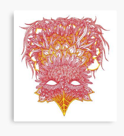 Firebird Line Design Canvas Print