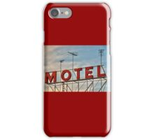 MOTEL iPhone Case/Skin
