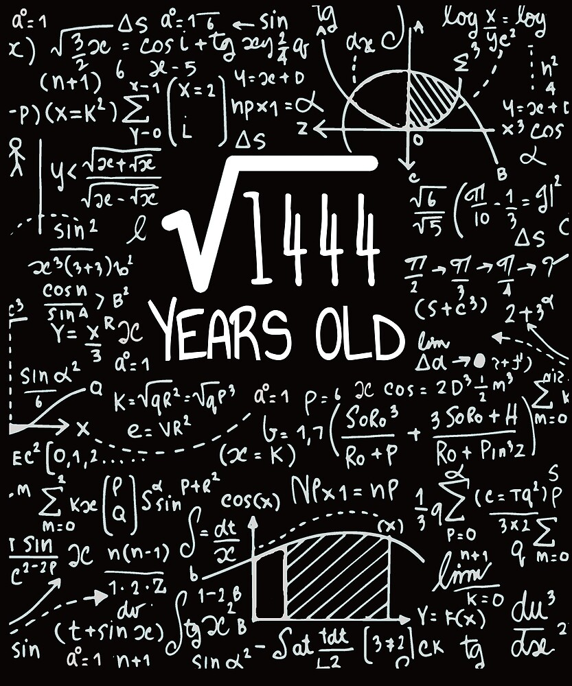 Square Root Of 1444 38 Years Old