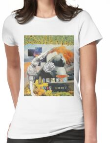 Abandon Your Body Womens Fitted T-Shirt
