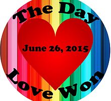 The Day Love Won by Marty Shaw