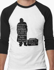 Silent Bob speaks out Men's Baseball ¾ T-Shirt