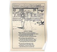 Miniature Under the Window Pictures & Rhymes for Children Kate Greenaway 1880 0037 Little Tommy Poster