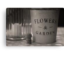 Flower & Garden Canvas Print
