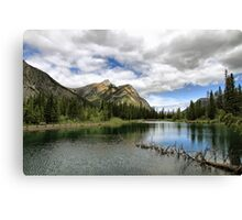 Mount Lorette Ponds Canvas Print