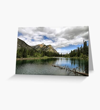 Mount Lorette Ponds Greeting Card