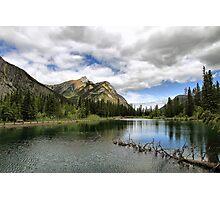 Mount Lorette Ponds Photographic Print