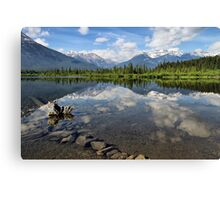 Vermillion Lakes, Banff, Alberta, Canada Canvas Print