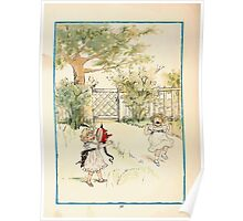 Rose Buds Virginia Gerson 1885 0042 Frightened Minnie Poster