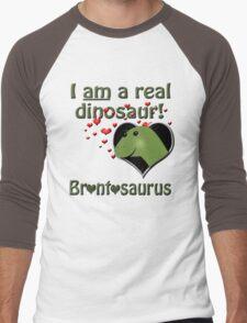 The reinstatement of Brontosaurus Men's Baseball ¾ T-Shirt