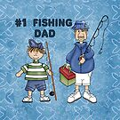 Number #1 Fishing Dad by SpiceTree